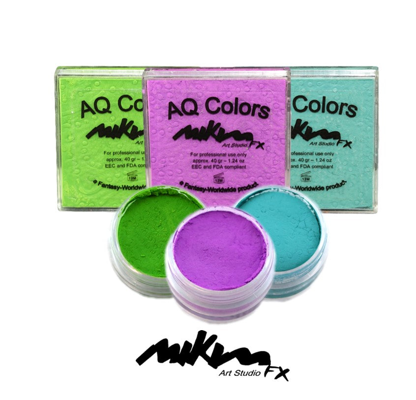 MiKim FX Neon Matte HYBRID Colors | 17gr and 40gr