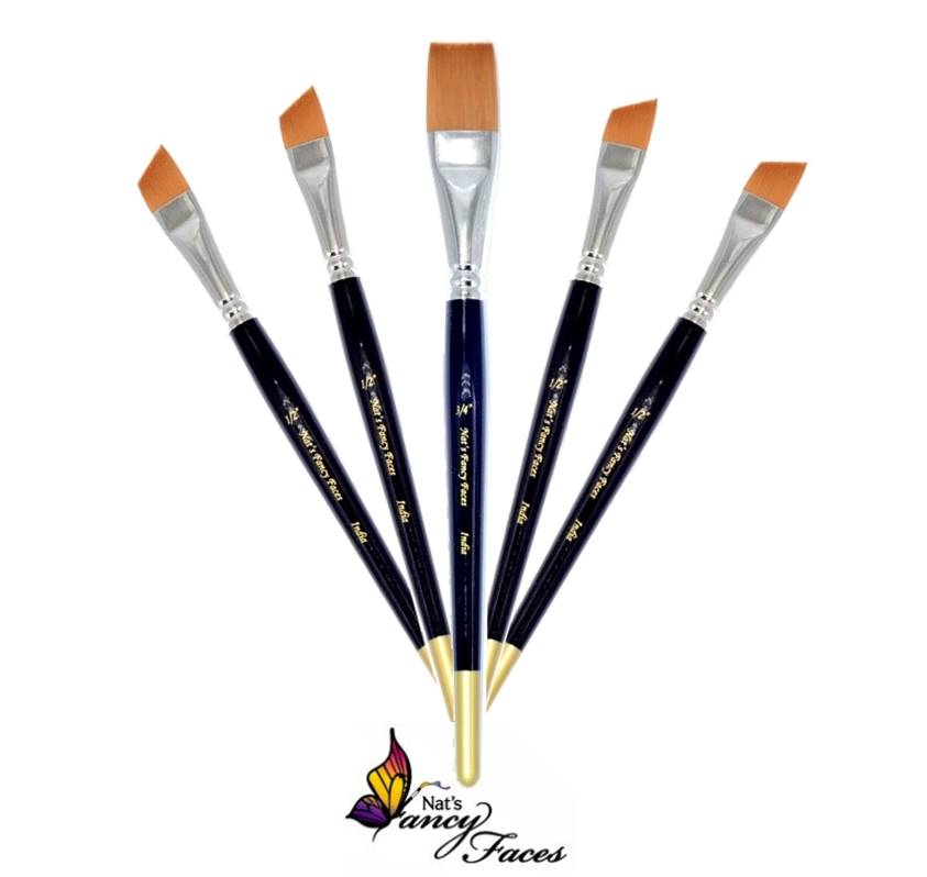 Nat's Fancy Faces - Face Painting Brushes