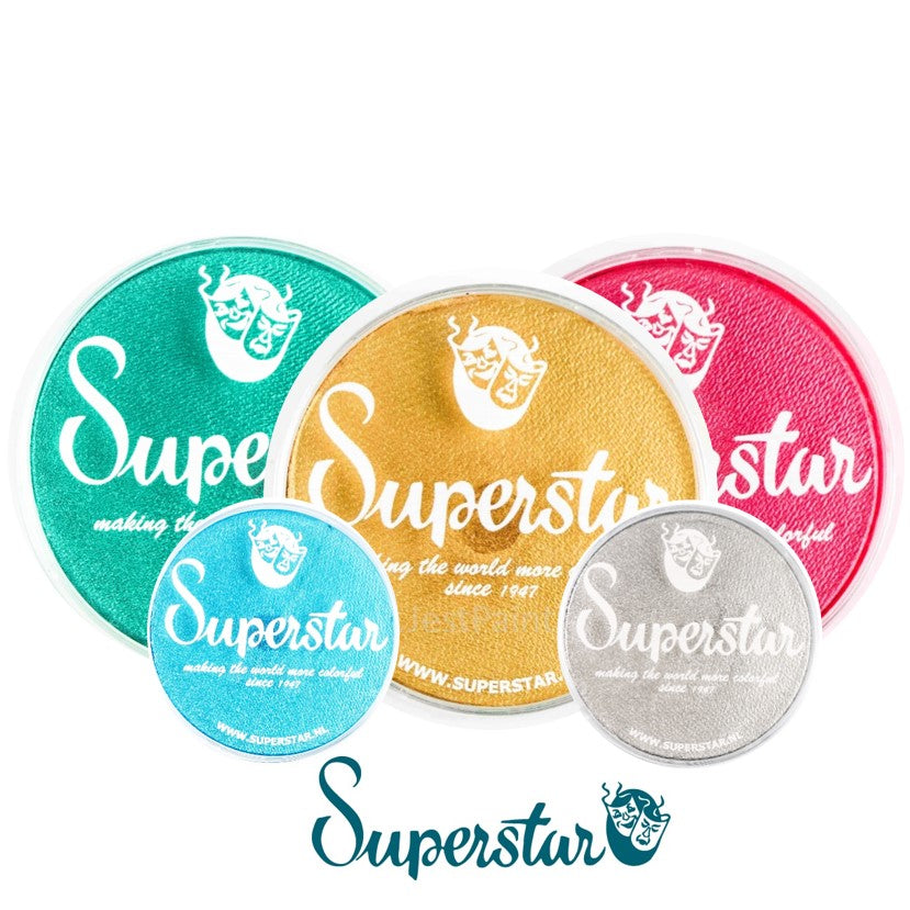 Superstar Face Paints - Shimmer 16gr and 45gr Colors