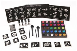 Glimmer Body Art Glitter Tattoo Kits