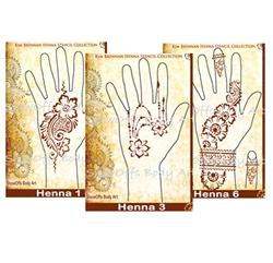 Henna Stencils by ShowOffs Body Art