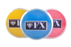 Diamond FX Face Paints -  Metallic Colors | 30gr