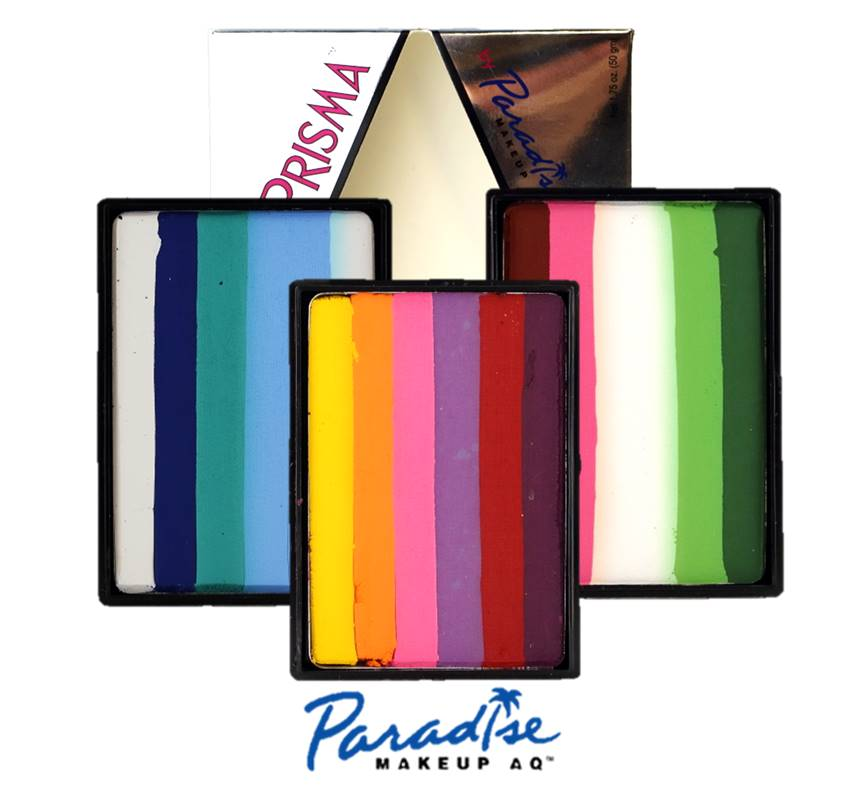 Paradise Face Paints - Prisma Split Cakes