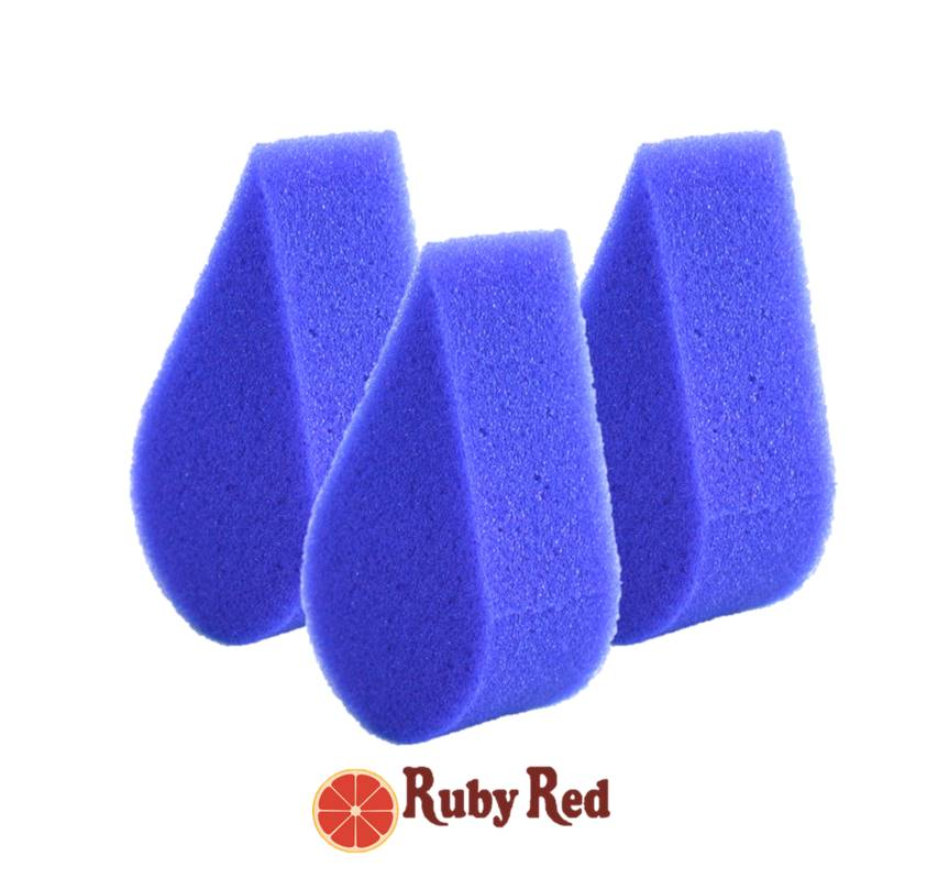 Ruby Red Face Painting Sponges