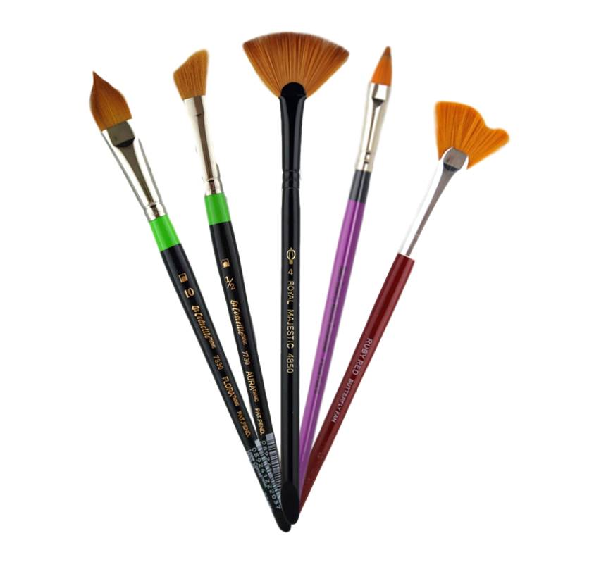 Specialty Shape Face Painting Brushes