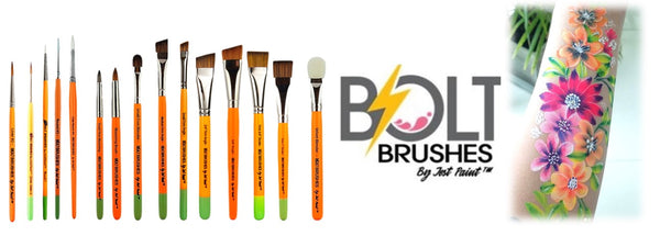 Bolt Brushes face painting brushes jest paint