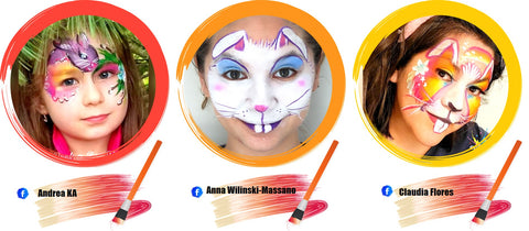Bunny Face Paint Ideas