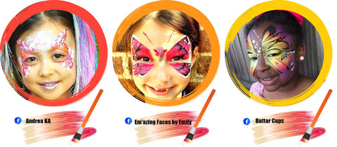 Butterfly Face Paint Ideas