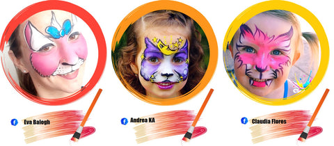 Cat Face Paint Ideas
