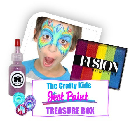 Crafty Kid treasure box subsciption