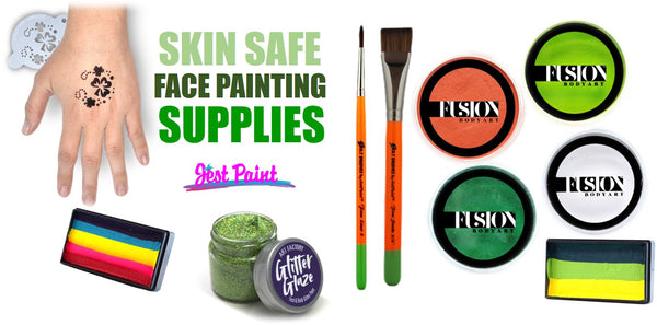 Face painting supplies for St. Patricks Day Jest paint