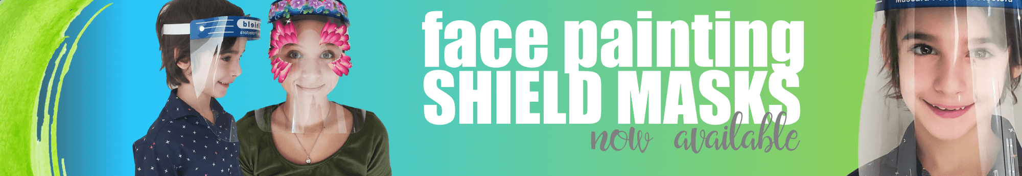 Face Painting Shields
