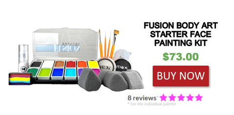 Fundamental Face Painting Kit