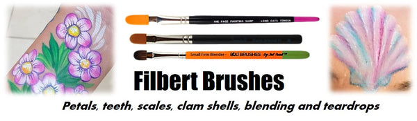 filbert  brush demo