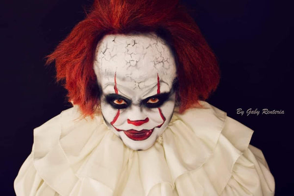 Gaby Renteria pennywise make up IT face paint
