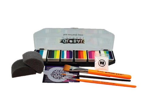 Global one stroke face painting kit craft kit