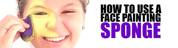 HOW TO USE A FACE PAINTING SPONGE