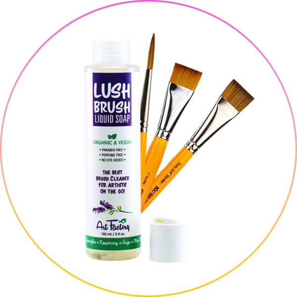 Cleaning your Face Painting Brushes and Sponges
