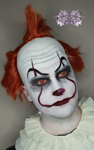 Kristy Lindley - Urban Sparkle -Pennywise 2 face paint makeup