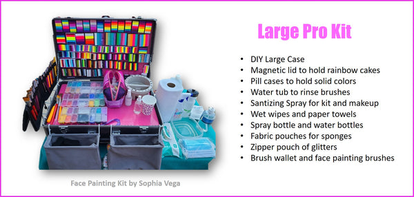 face painting kit sophia vega