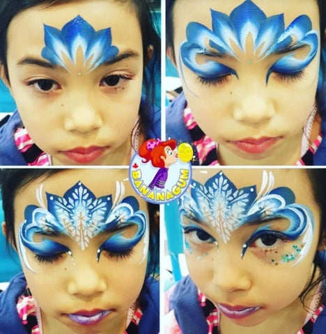 Frozen Makeup step by step frozen tutorial ice queen by Mai Park