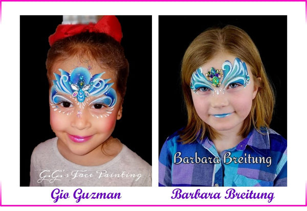 princesses face painting blog