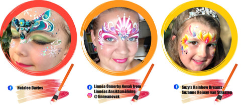 Princess Face Paint Ideas