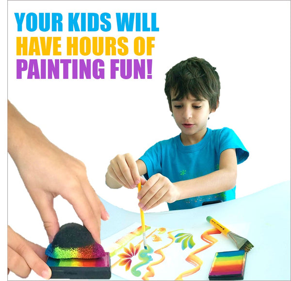 painting 1 stroke craft for kids