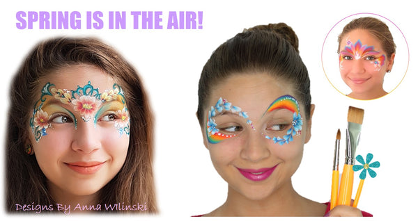 Anna Wilinski Face Painting Easter jest Paint