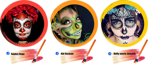 Sugar Skull Face Paint Ideas