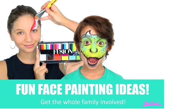 fun face painting ideas corona virus