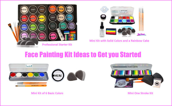 Basic set ups face painting kits