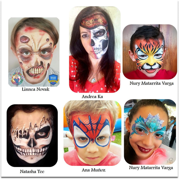 face paint ideas halloween costume
