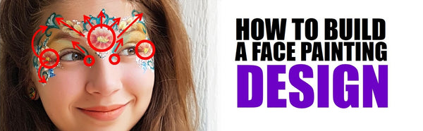 how to build a face painting design