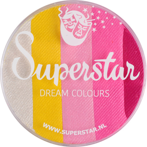 Superstar Face Paint | Dream Colours Rainbow Cake - SWEET - 45gr - Jest Paint Store