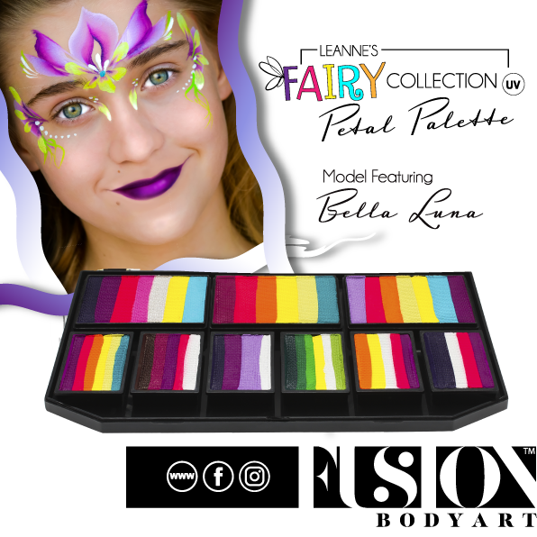 Fusion Body Art - Petal Palette | Leanne's Fairy Collection - Jest Paint Store