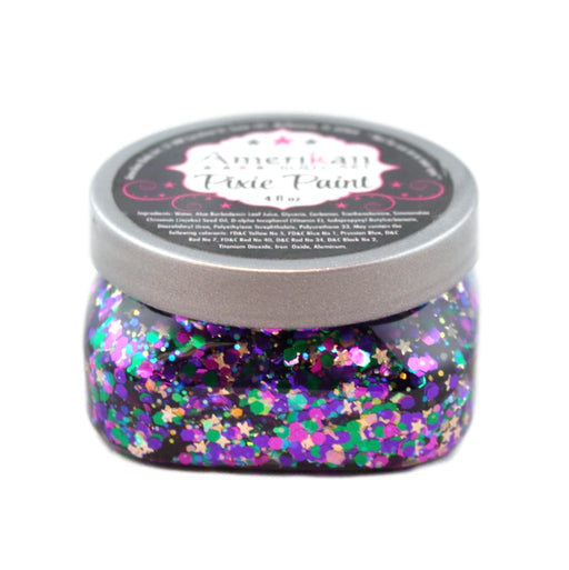 Pixie Paint Face Paint Glitter Gel  - Mardi Gras - Medium  4oz