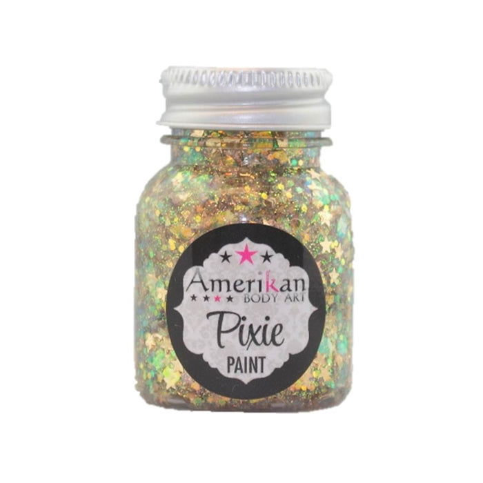 Pixie Paint Face Paint Glitter Gel - Lucky Star - Small 1oz - Jest Paint Store