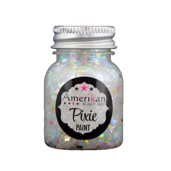 Pixie Paint Face Paint Glitter Gel - Abracadabra -  Small 1oz - Jest Paint Store