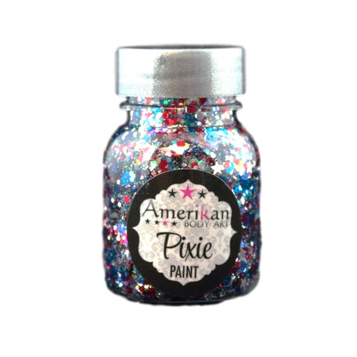 Pixie Paint Face Paint Glitter Gel - Star Spangled - Small 1oz - Jest Paint Store