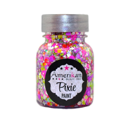 Pixie Paint Face Paint Glitter Gel - UV Valley Girl - Small 1oz - Jest Paint Store