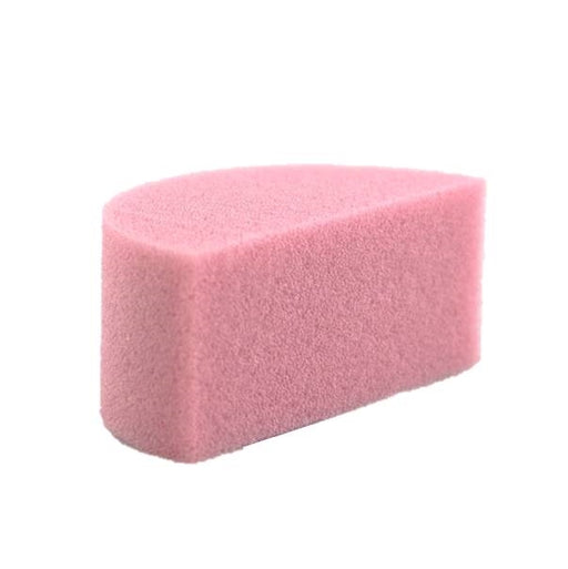 Always Wicked Art - DISCONTINUED - Large Pink Face Painting Sponge -1 Half - Jest Paint Store
