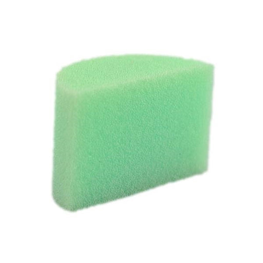 Always Wicked Art - DISCONTINUED - Small Green Face Painting Sponge - 1 Half - Jest Paint Store