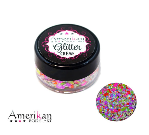 Amerikan Body Art | CHUNKY Glitter Cremes - ORION - 10gr - Jest Paint Store