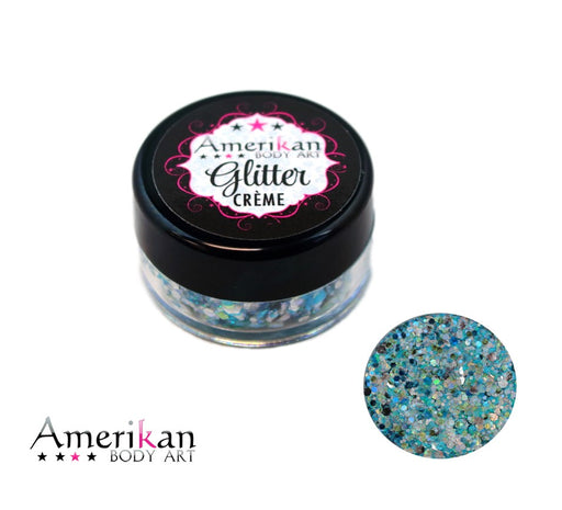Amerikan Body Art | CHUNKY Glitter Cremes - PISCES - 10gr - Jest Paint Store
