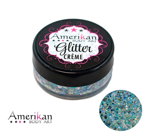 Amerikan Body Art | CHUNKY Glitter Cremes - PISCES - Pro Jar (20gr)