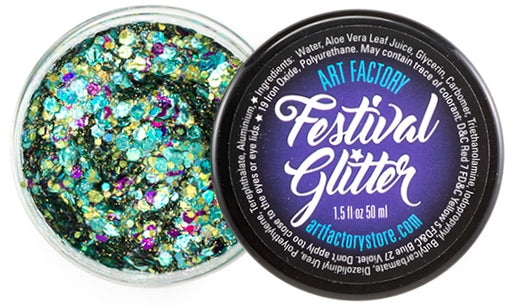 Festival Glitter - Chunky Glitter Gel - Mermaid -  1.5 oz