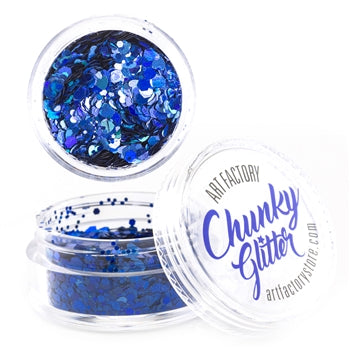 Art Factory | Loose Chunky Glitter - Abyss (10ml jar) - Jest Paint Store