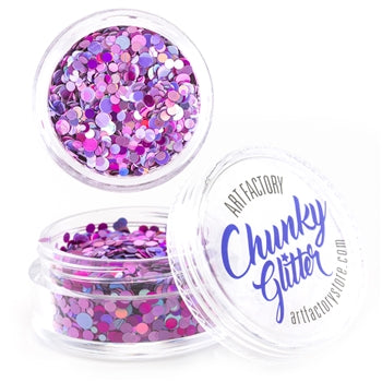Art Factory | Loose Chunky Glitter - Diva (10ml jar)