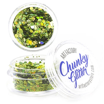 Art Factory | Loose Chunky Glitter - Envy (10ml  jar)